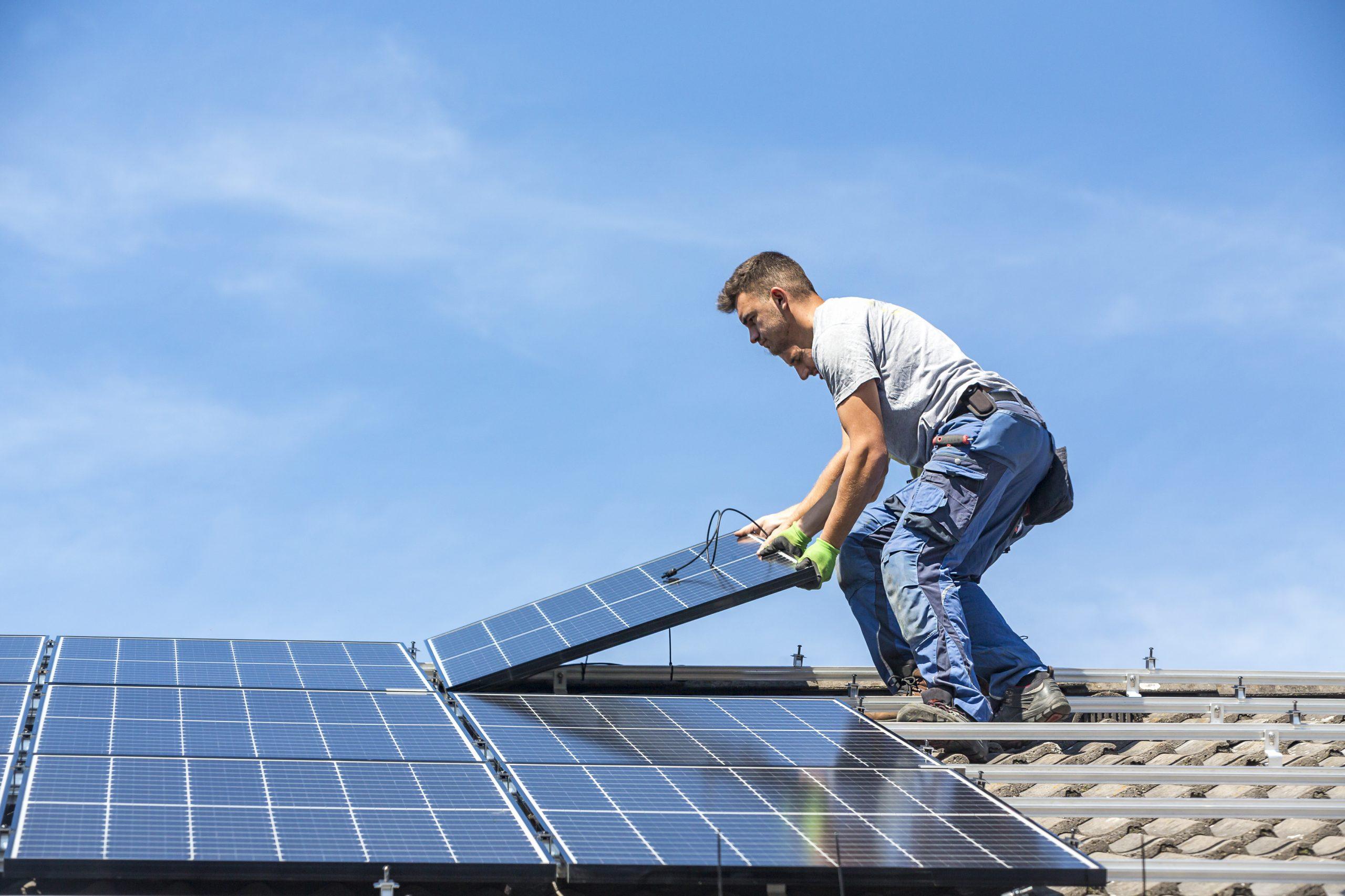 principal fonctionnement des panneaux solaires